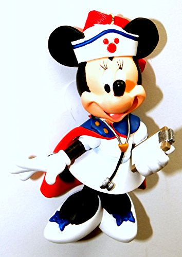 Disney World Park Set 2014 Vintage Look Nurse Minnie Mouse Christmas - Nurse Ornament Christmas