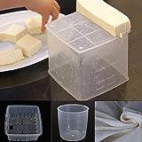 DIY Homemade Tofu Press Maker Mold Plastic Box Soybean Curd Making Tools