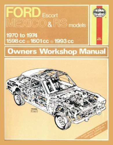 Ford Escort RS Mexico: Amazon.es: Haynes Publishing: Libros en idiomas extranjeros