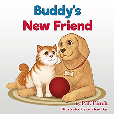 Buddy's New Friend: A Children's Picture Book - Pet Adoption & Teaching Compassion (Luna & Asher 2)