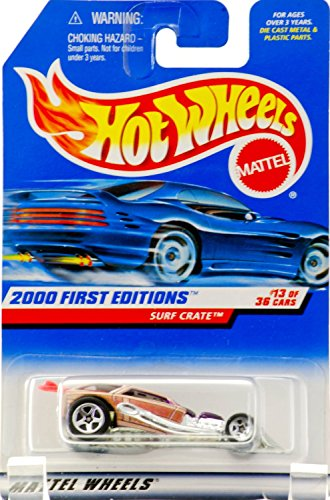 Used, Hot Wheels 2000 First Editions Moc Surf Crate for sale  Delivered anywhere in USA