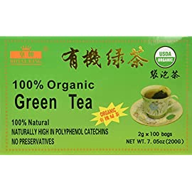China Green Tea 100 Tea Bags, Organic 54