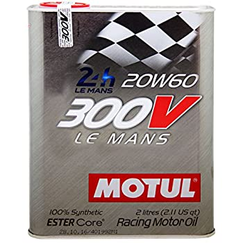 motul 300v le mans 20w60 racing engine oil 2l automotive. Black Bedroom Furniture Sets. Home Design Ideas