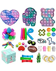 Budbof Sensory Fidget Toy Pack, Push Bubble Pop to Stress Relief for Kids Adult