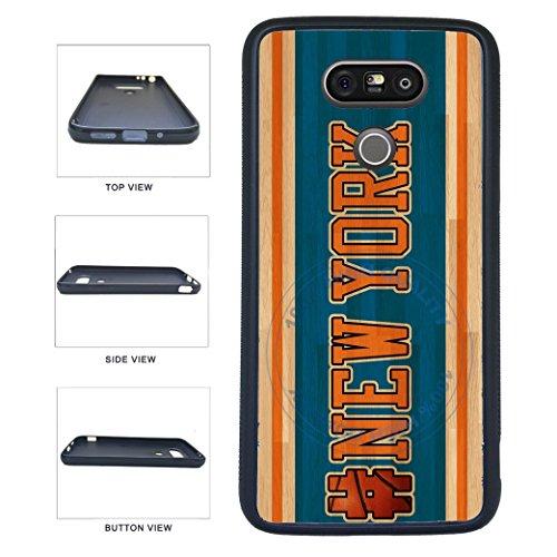 BleuReign(TM) Basketball Team Hashtag New York #NewYork TPU RUBBER SILICONE Phone Case Back Cover For LG G5