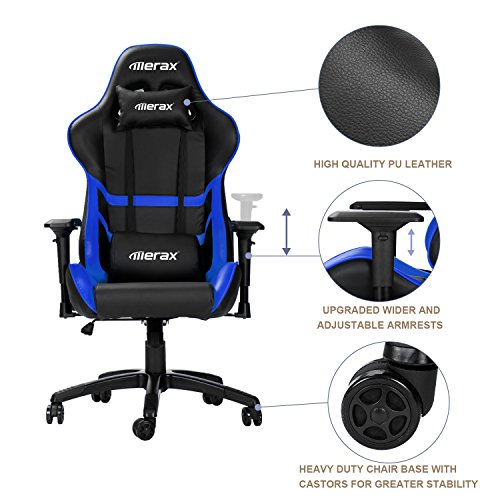 51Bh2zOReHL - Merax-High-Back-Computer-Chair-Ergonomic-Design-Racing-Gaming-Chair-Reclining-Chair-Home-Office-Chair