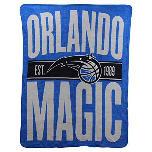 The Northwest Company NBA Clear Out Super Soft Plush Throw Blanket (Orlando Magic)