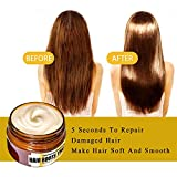 Qsfly Hair Mask Advanced Hair Roots Treatment, Deep Conditioner Magical Treatment Recover Elasticity Hair Repair for Dry Hair, Damaged Hair, Color Treated Hair - 60 ml