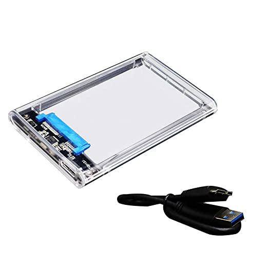 Hanxin USB3.0 Caja Dura de Disco de 2,5 Pulgadas de Puerto Serie ...
