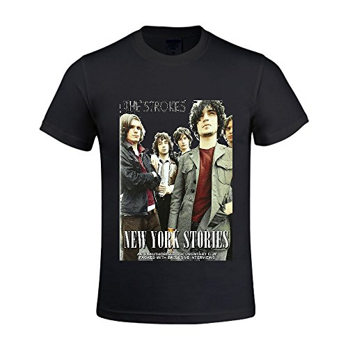 The Strokes The Strokes New York Stories Men T Shirts Crew Neck 100 Cotton - Designer Eyeglasses Nyc