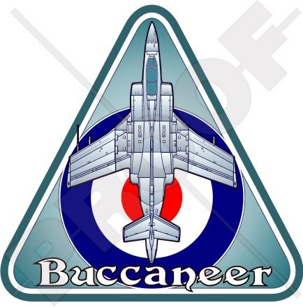 (Blackburn BUCCANEER Hawker Siddeley RAF British Royal AirForce UK 3,7