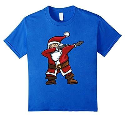Dabbing Santa T-Shirt Funny Santa Claus Christmas Dab Tee