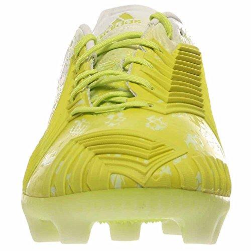 Adidas Mens Predator Instinct Hunt Fg Scarpe Da Calcio Bianco / Bianco / Glo