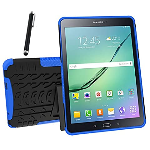 Galaxy Tab S2 9.7 Case, Tab S2 9.7 Case, Asstar Shockproof Heavy Duty Rugged Hybrid Kickstand Protective Case for Samsung Galaxy Tab S2 9.7 inch Tablet with 1x Stylus Pen for Free (Otterbox Privacy Screen Iphone 5)