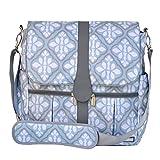 JJ Cole Backpack Diaper Bag, Blue Iris