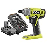 Ryobi ZRP1870 ONE+ 18-Volt Lithium-Ion 1/4 in. Cordless Impact Driver Kit (Certified Refurbished)