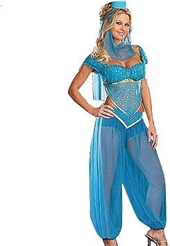 hhalibaba Disfraz de Princesa Jasmine Sexy Talla Grande XL Adultos ...