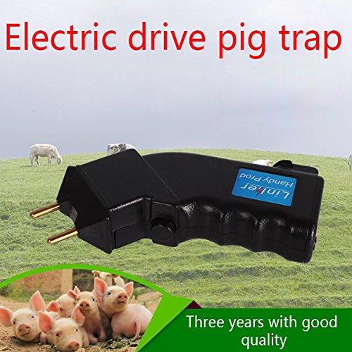 Gsha Pet Control Electric Hand Cattle Prod Shock Cattle Prod Goat Cattle Pig Livestock Equipment by Gsha