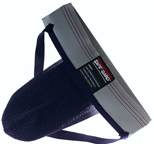Adult X-Large Athletic Supporter Without Pocket (Navy with Grey Band)