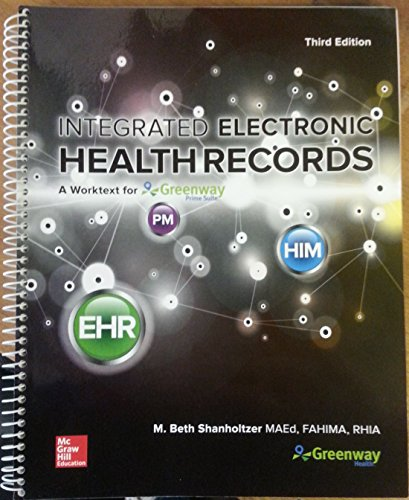 A Workbook For: Integrated Electronic Health - Electronic Integrated