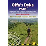 Offa's Dyke Path: British Walking Guide with 98 Large-Scale Walking Maps, Places to Stay, Places to Eat