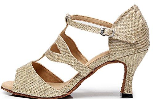 CFP - Zapatillas de danza de Material Sintético para mujer Dorado dorado xZJBKqt26j