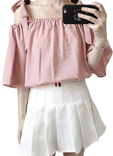 場合栄光のラッチBeiBang(バイバン) レディース tシャツ ゆったり ブラウス 着痩せ オフショルダートップス ゆる カジュアル トップス 夏物
