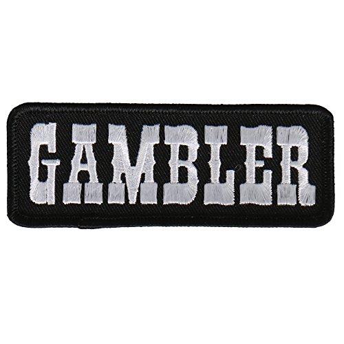 Hot Leathers Unisex-Adult Gambler Patch (Multicolor, 4