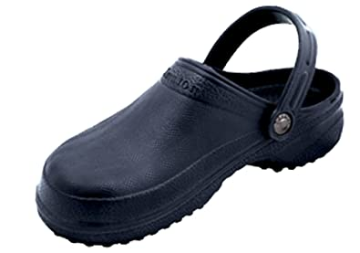 Nothinz Ladies' Closed Top Clogs,8 B(M) US,Navy Closed