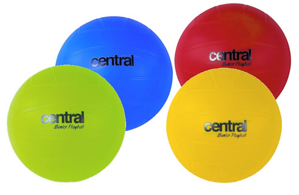 Central Juniors Garden Games Senior Playball Pack Of 12 (3 Of Each Colour)