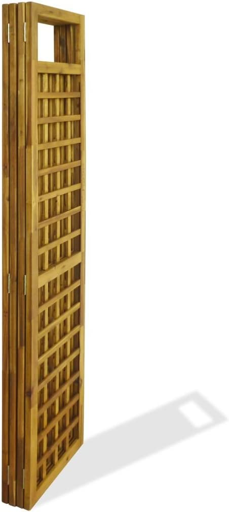 Platzsparend /& Multifunktional Tidyard 6-TLG Raumteiler Trennwand Paravent Wand Raumteiler Sichtschutz Wei/ß 240/×180 cm