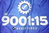 NEW! ISO 9001:2015 Flag