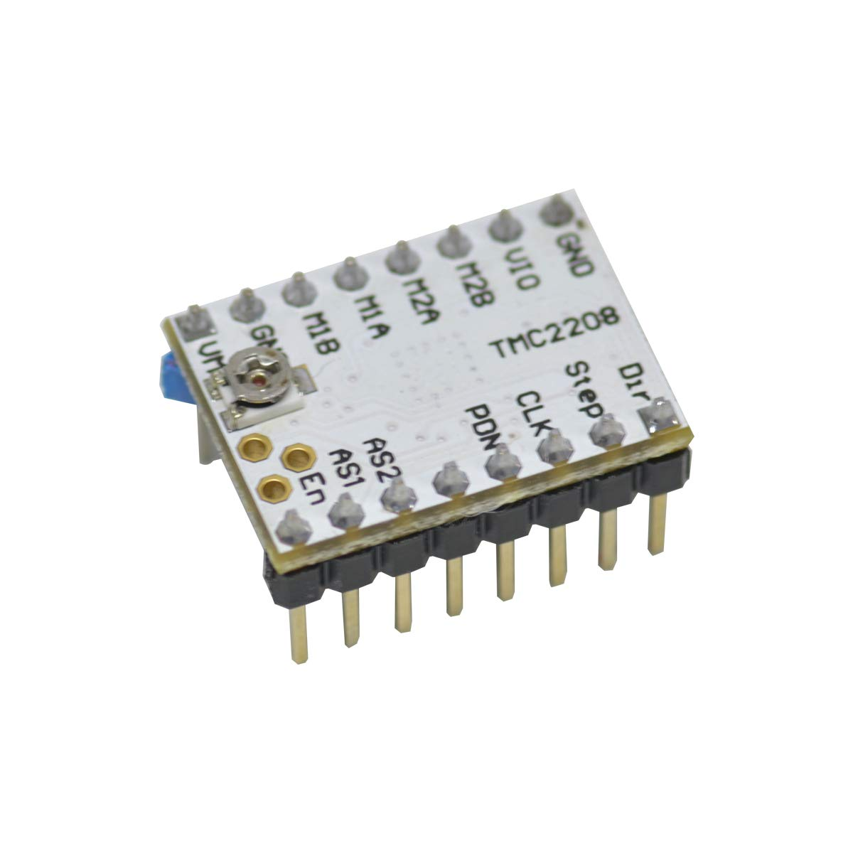 Pack of 4 GEEETECH TMC2208 Stepper Motor Driver Module Stepstick with Headsink and Screwdriver for 3D Printer Mother Boards Reprap MKS Prusa and More