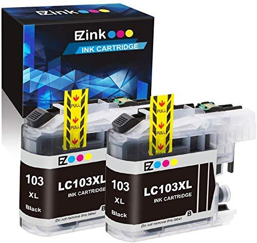 Compatible Cartuchos de tinta de repuesto para Brother LC103 ...