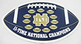 Notre Dame NCAA Football Licensed Car / Truck Magnet