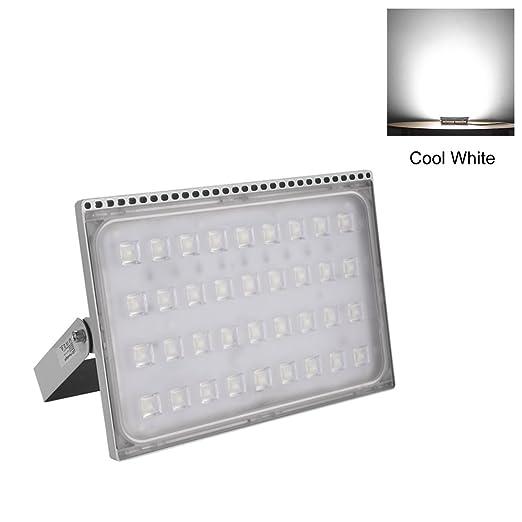 Per Lámparas LED para Techo y Pared Foco Proyector Exteriores LED Proyector Resistente al agua IP67 Iluminación Industriales (blanco frio, 200w)
