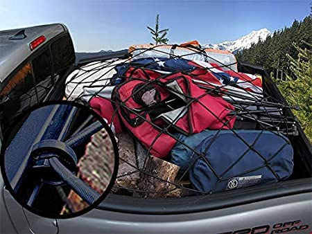 Long Bed Toyota Tacoma Cargo Net