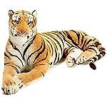 Patly Premium Quality Soft & Stuffed Tiger Plush Toy for Kids (32 cm)
