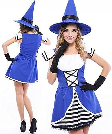 ASTI Witch Hexe und blauen Kleid dicke Menschen kleiden ...