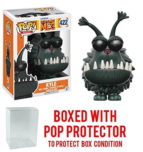 Funko Pop! Movies: Despicable Me 3 - Kyle Vinyl Figure (Bundled with Pop BOX PROTECTOR CASE)