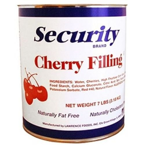 Security Cherry Filling, no.10 Can -- 6 per case by Lawrence Foods (Image #1)