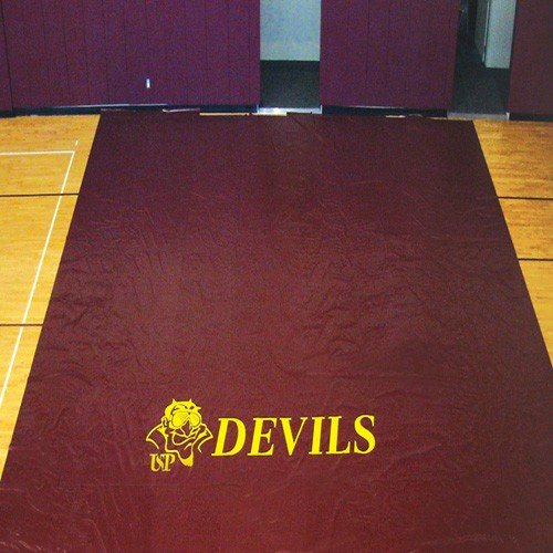 Ssn 1083828 27 oz Deluxe Gym Floor Covers44; Burgundy