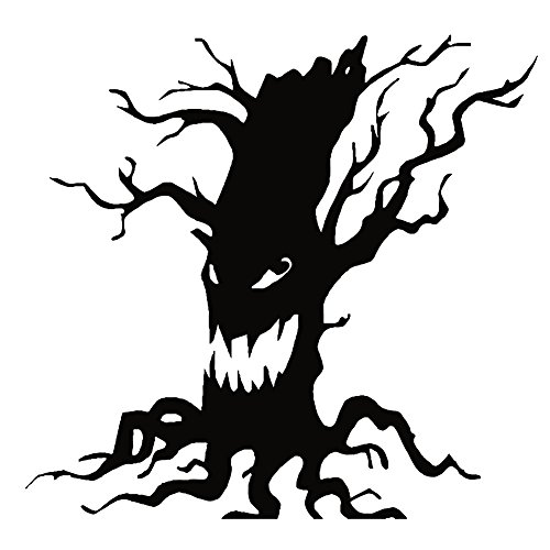 Galaxia Air Ghost Tree Living Room Bedroom Background Decoration Stickers Hot Halloween Wall Stickers -