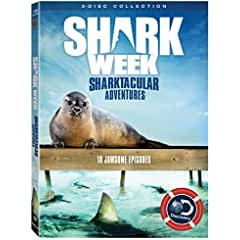 Shark Week: Sharktacular Adventures arrives on DVD July 3rd from Lionsgate