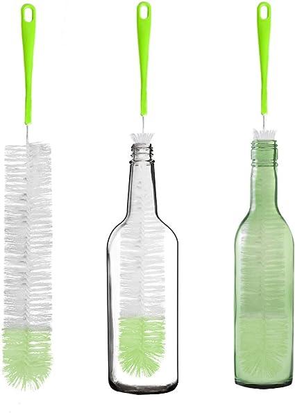 Amazon.com: TISSA Cepillo de limpieza para botellas largas ...