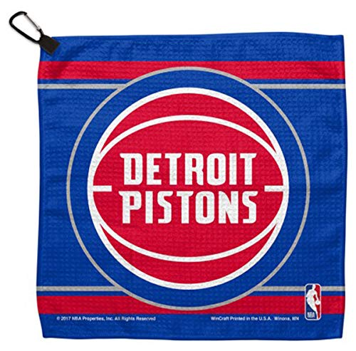 NBA Detroit Pistons Waffle Golf Towel 13 x 13 inches