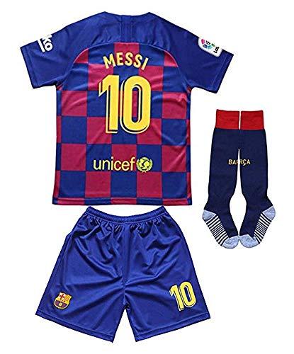 Kalpal 2019-2020 Home Barcelona #10 Messi Playera de fútbol ...