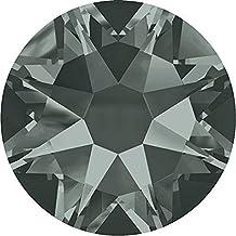 SWAROVSKI Crystal Flat Backs/Rhinestones SS12(3.1mm) BLACK DIAMOND HOTFIX Pack of 100 Crystals Genuine #2078 Xirius Rose