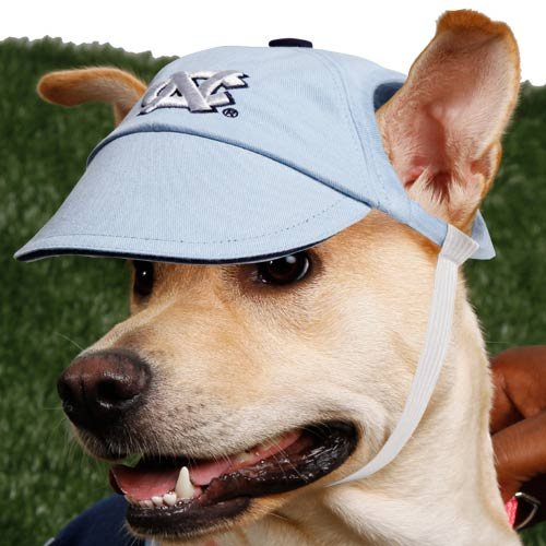 College Dog Cap Team: University of North Carolina, Size-See Size Chart Below: Medium / Large (6'' H x 6'' W x 1'' D) by Sporty K9 (Image #2)