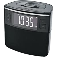 SYLVANIA SCR1986BT-AS Bluetooth Clock Radio With Auto-set Dual Alarm Clock & Usb Charging